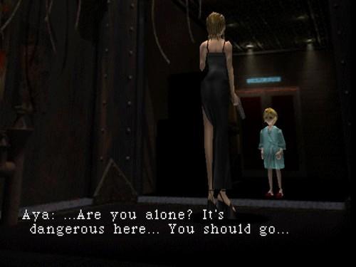 Aya Talking To Her Memory