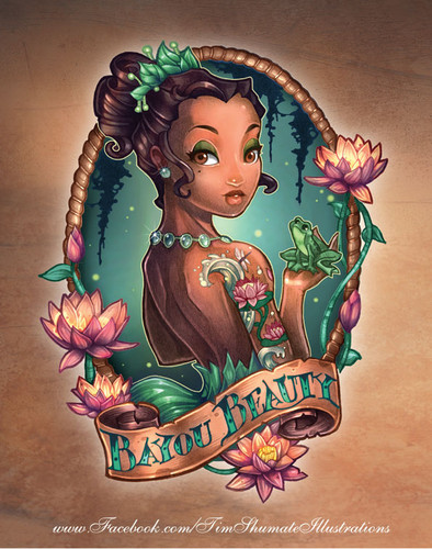 BAYOU BEAUTY - disney-princess Fan Art