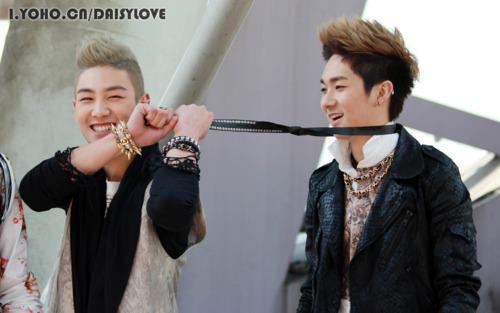 Baekho & Aron