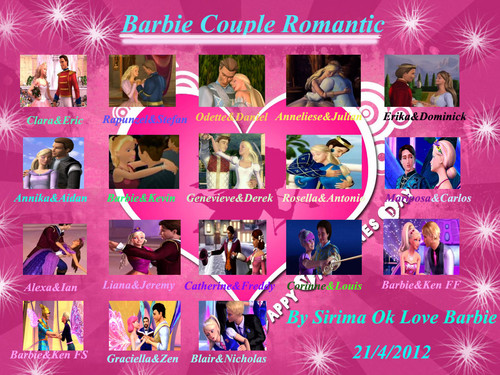 Barbie Couple Romantic - barbie-movies Fan Art