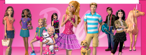 芭比 电影 壁纸 titled Barbie: Life in the Dreamhouse