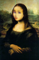 Barbie's face in Monalisa ^u^