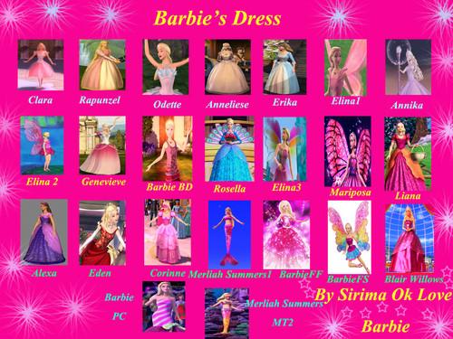 Barbie's Dress