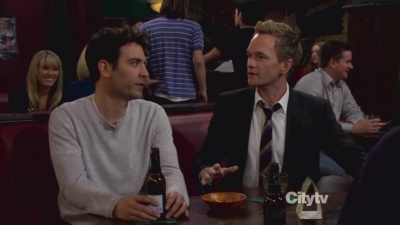 Barney and Ted <3
