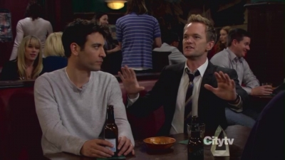Barney Stinson wallpaper containing a business suit entitled Barney and Ted <3