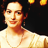 Becoming Jane Foto probably containing a bridesmaid and a portrait called Becoming Jane
