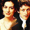 Becoming Jane bức ảnh containing a business suit and a portrait called Becoming Jane