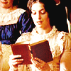 Becoming Jane photo possibly with a kirtle and a portrait entitled Becoming Jane