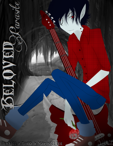 Fiolee (Fionna and Marshal Lee) پیپر وال called Beloved Parasite-Cover