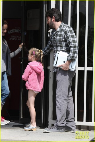 Ben Affleck: Taking Violet To Ballet