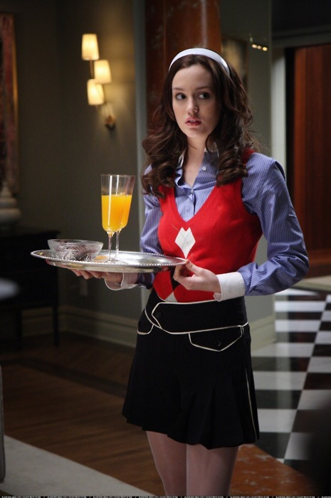 Leighton Meester on Blair Waldorfs Most Daring Outfit!