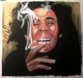 Bob Marley Oil Pastel - bob-marley fan art