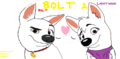 Bolt and Lightning's BOLT 2 - disneys-bolt fan art