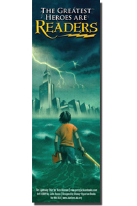 Percy Jackson & The Olympians libri wallpaper titled Book Marker