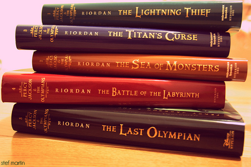 Percy Jackson & The Olympians libros fondo de pantalla possibly with a bookshop entitled libros Percy