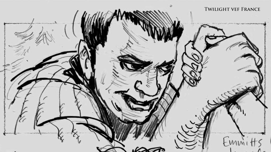 Breaknig Dawn part 2 script and storyboard