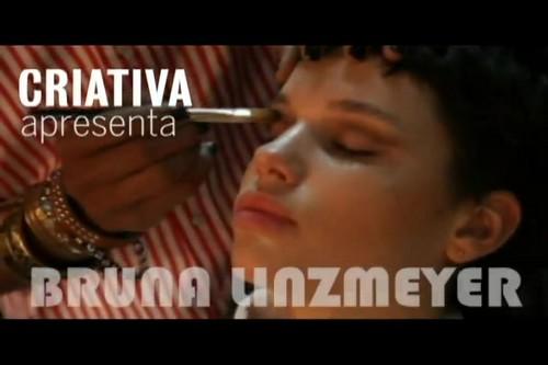 Bruna Linzmeyer em sessão de fotos para a revista 'Criativa' - Making Of