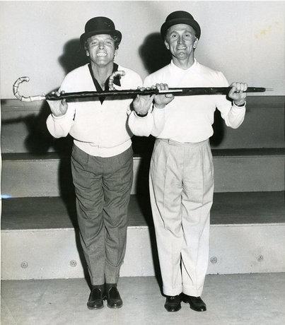 Burt Lancaster & Kirk Douglas