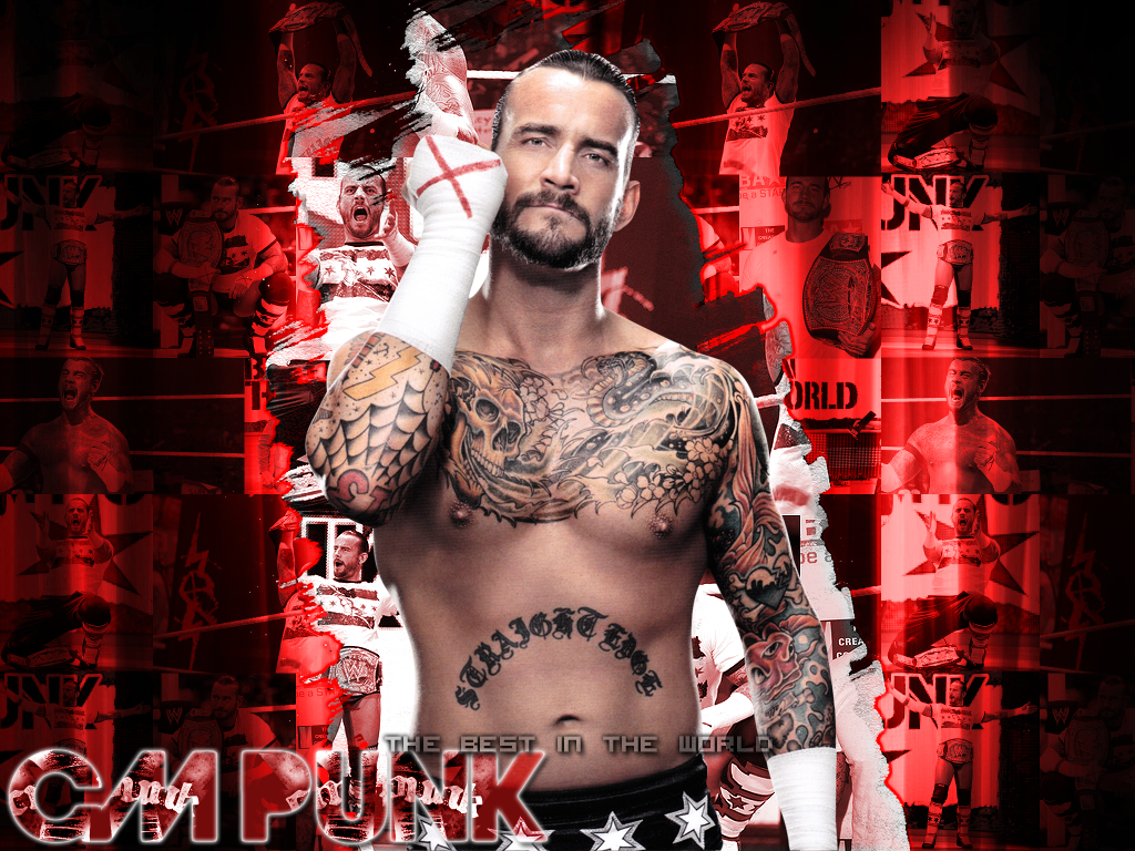 CM Punk CM Punk Best In The World Wallpaper