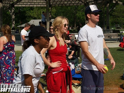 "Candice - Team ""Vampires"" at softball."