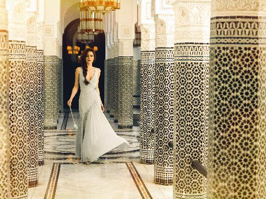 Cansu Dere in Morocco for Elle magazine Turkey