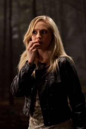 Caroline Forbes 壁紙 possibly with an outerwear, a well dressed person, and a portrait called Caroline Forbes