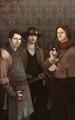 Cas, Dean & Sam - dean-castiel-and-sam fan art