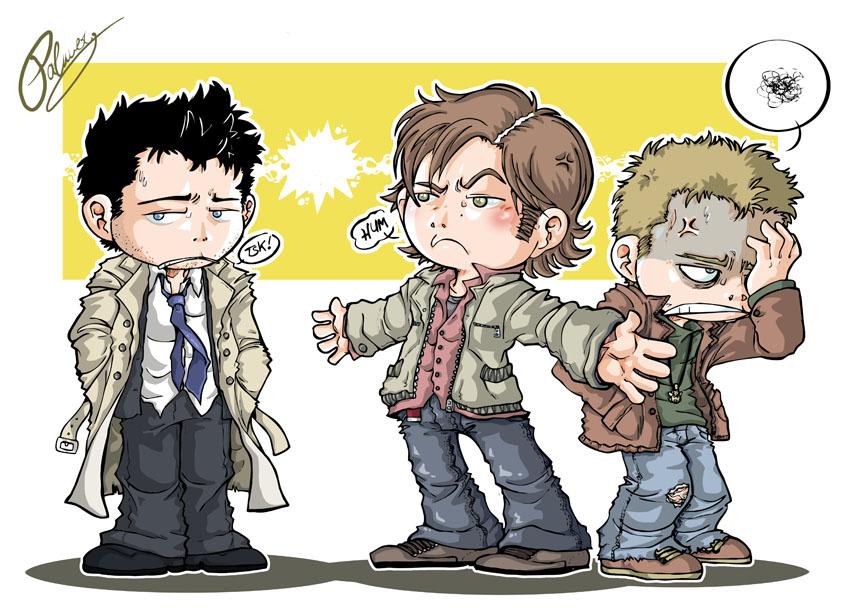 Cas Dean Sam Supernatural Fan Art 30525985 Fanpop