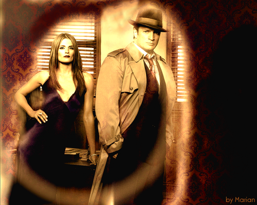 Castle&Beckett 40's style