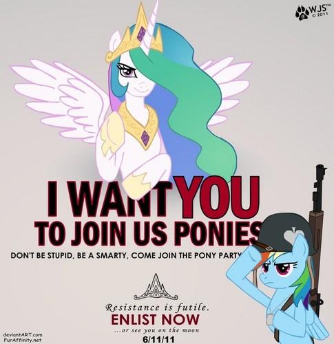 Celestia wants you!