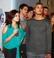 Chilli Beans Century City Store Opening - chris-zylka-and-lucy-hale photo