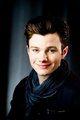 Chris Colfer poses for a portrait in New York, Saturday, April 21, 2012 - chris-colfer photo