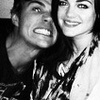 Chris Zylka and Lucy Hale photo containing a portrait called Chris and Lucy