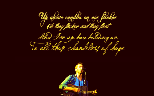 Coldplay wallpaper with a concert titled Christmas Lights ♥