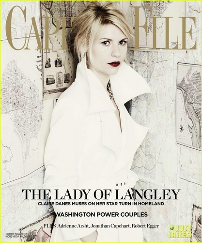 Claire Danes on Capitol File's Magazine
