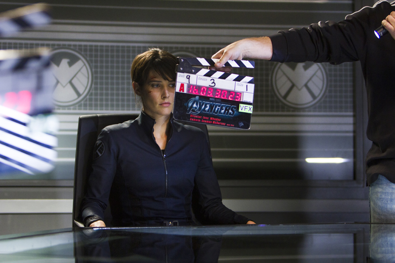 Cobie - New Avengers Stills