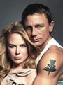 Daniel Craig with Nicole Kidman