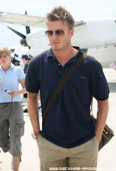 David Beckham Casual Wear