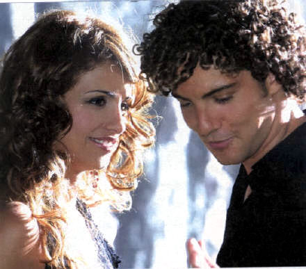 David Bisbal y Mónica Cruz