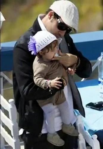 David Bisbal y su hija Ella