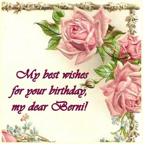 Dear Berni