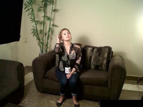 Demi - MixTv Interview in Panama City - April 12th 2012