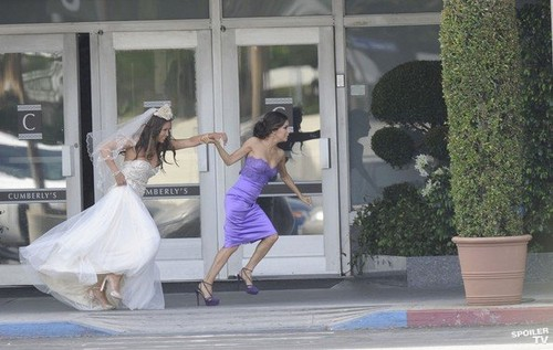 Desperate Housewives - Set photos - 18th April 2012
