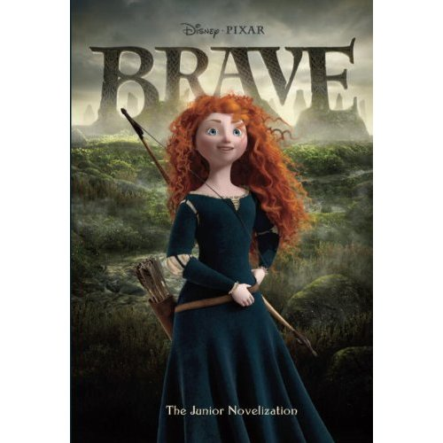 Disney Pixar Brave vitabu and PC videogame cover