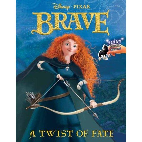 Disney Pixar Ribelle - The Brave libri and PC videogame cover