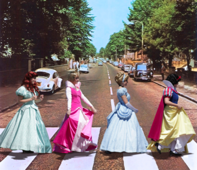 disney Princess Abbey Road