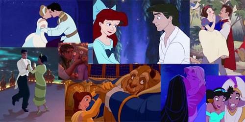 Disney Princess Couples