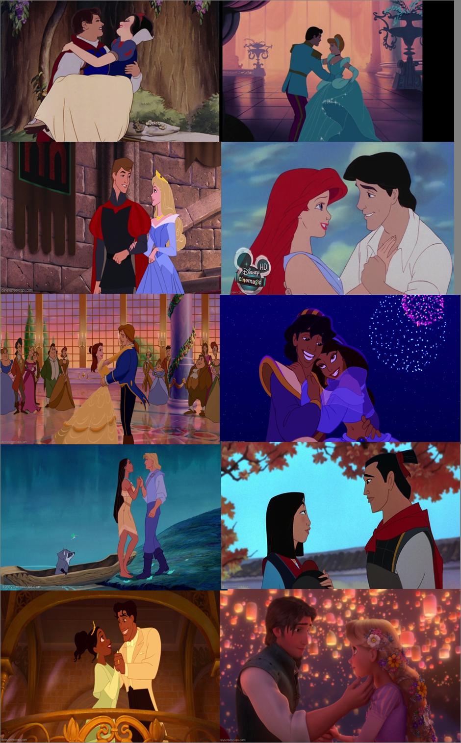 Disney Princesses Couples - Disney Princess Photo ...