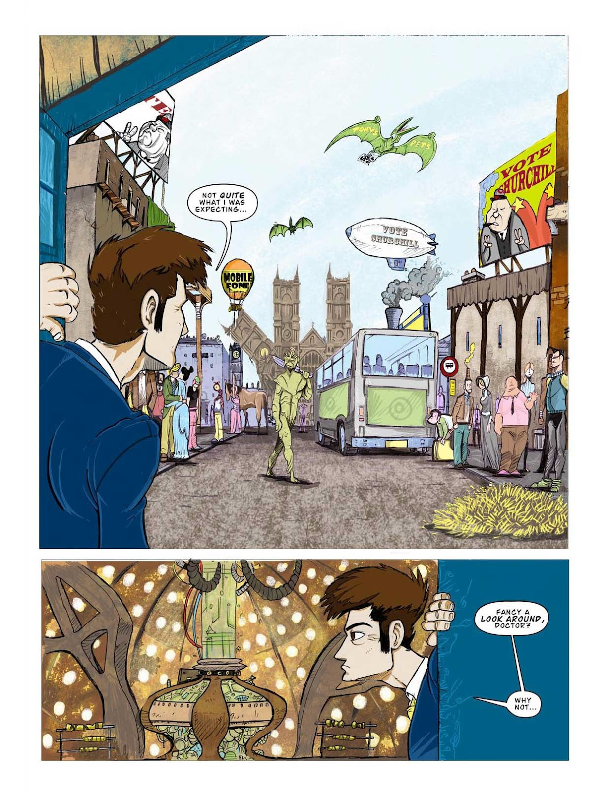 Doctor Who Comic <2