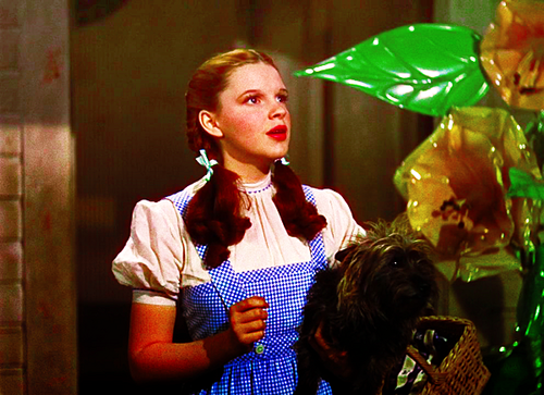 Dorothy and sweetest Toto